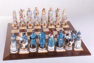 Battle of Gettysburg Chess Set